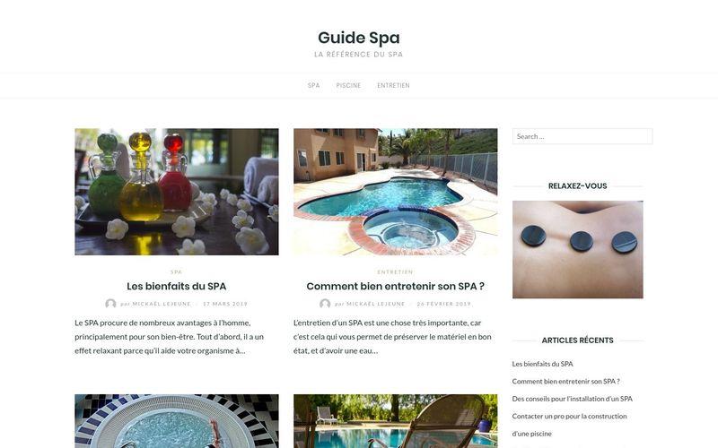 Guide Spa - La référence du spa
